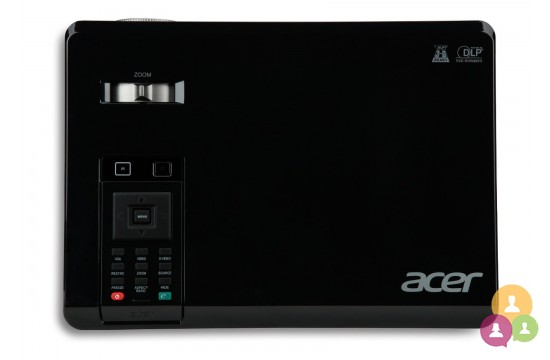Photo de Vidéoprojecteur acer x112 svga dl